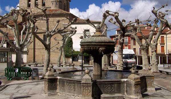 plaza mayor piedrahita