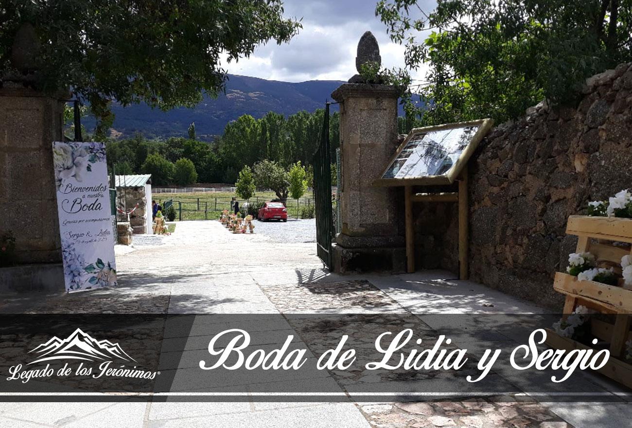 Boda Lidia y Sergio finca para Bodas